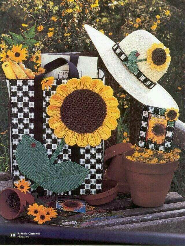 SNAPPY SUNFLOWERS by SANDRA MILLER MAXFIELD 1/4