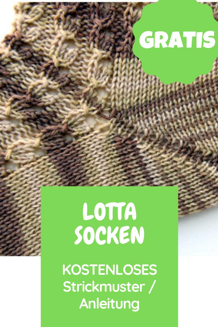 "Photo of Kostenloses Strickmuster Socken ""Summer Sneakers No. 1"" Lotta – Kostenloses Stri…"