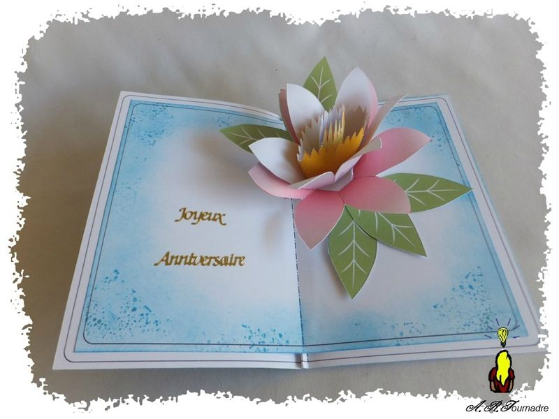 Carte Pop Up Le Nenuphar 3d Cards Pop Up Pop Up Cartes Pop