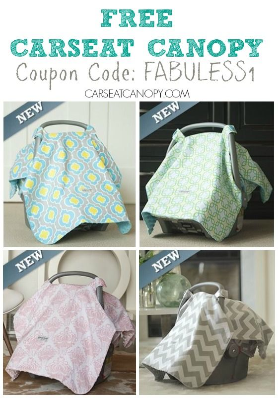 Perfect For Baby Showers Its A FREE Car Seat Canopy To Keep Your Covered And Mommy Stylish Coupon Code Is FABULESS1 FabulesslyFrugal
