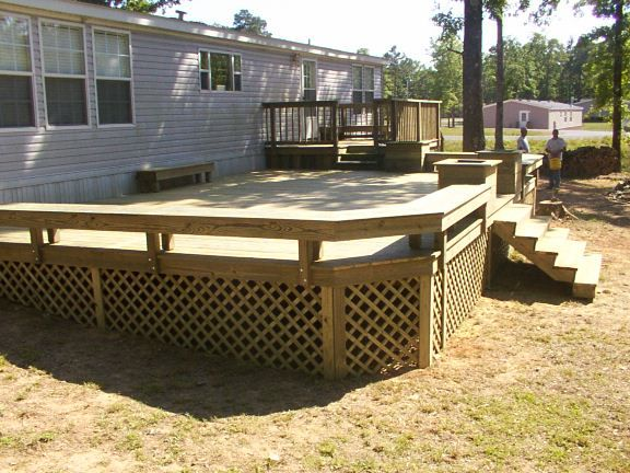 Http Www Sunsetdecks Org Mobilehomes Mobilehomedeck 28 Jpg Mobile Home Porch Manufactured Home Porch House With Porch