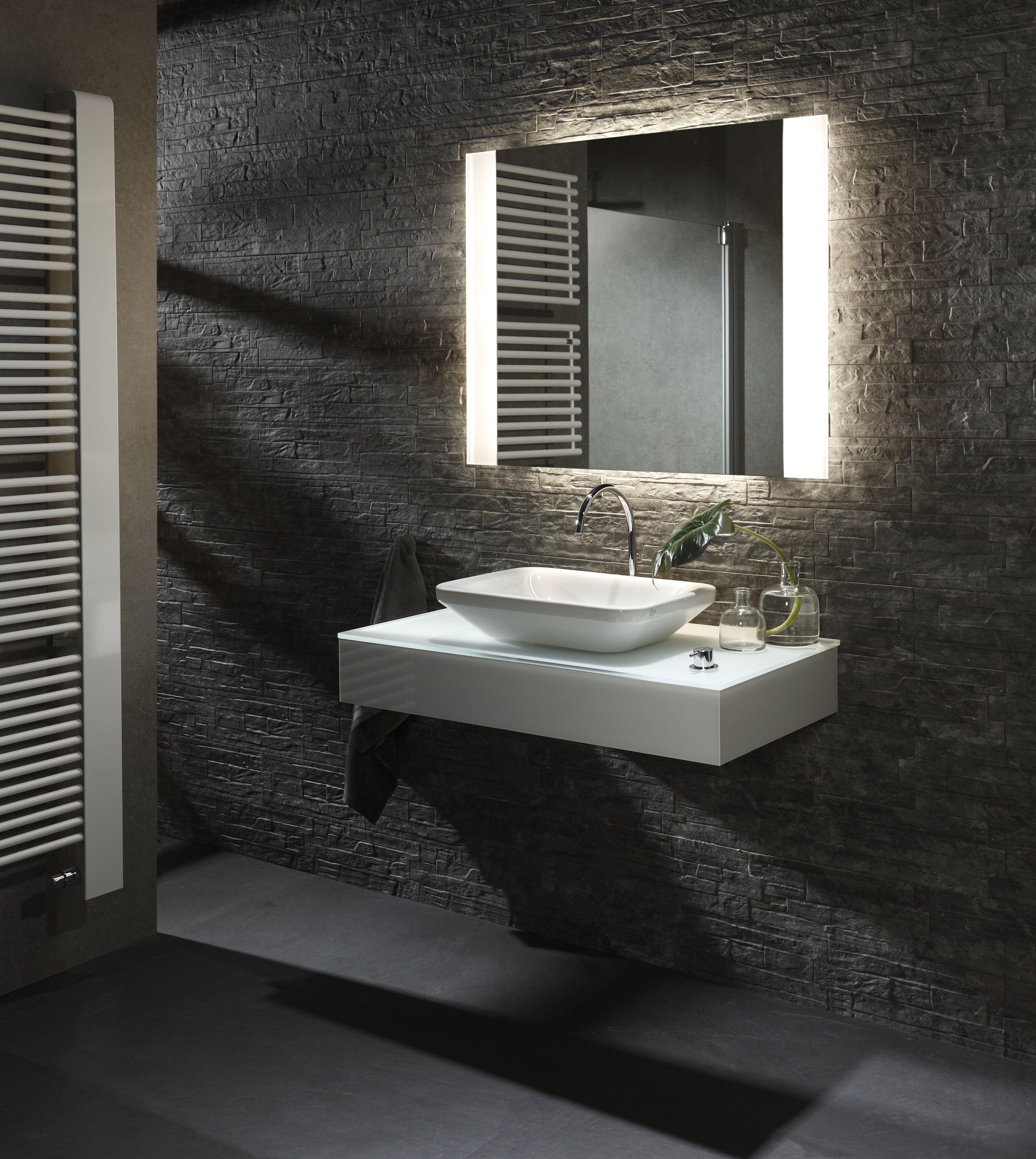 Badezimmer design beleuchtung yourstyle pro s deluxe  indirekte beleuchtung oben und unten