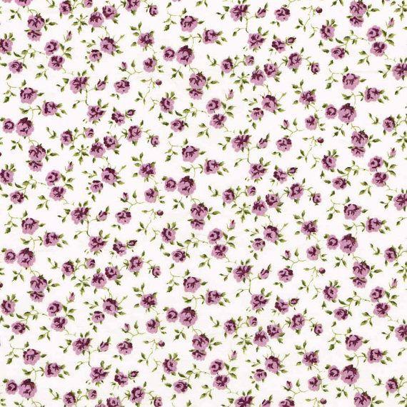 Libertad tela Nina J Purple violeta Tana Lawn grasa cuarto | fabrics ...
