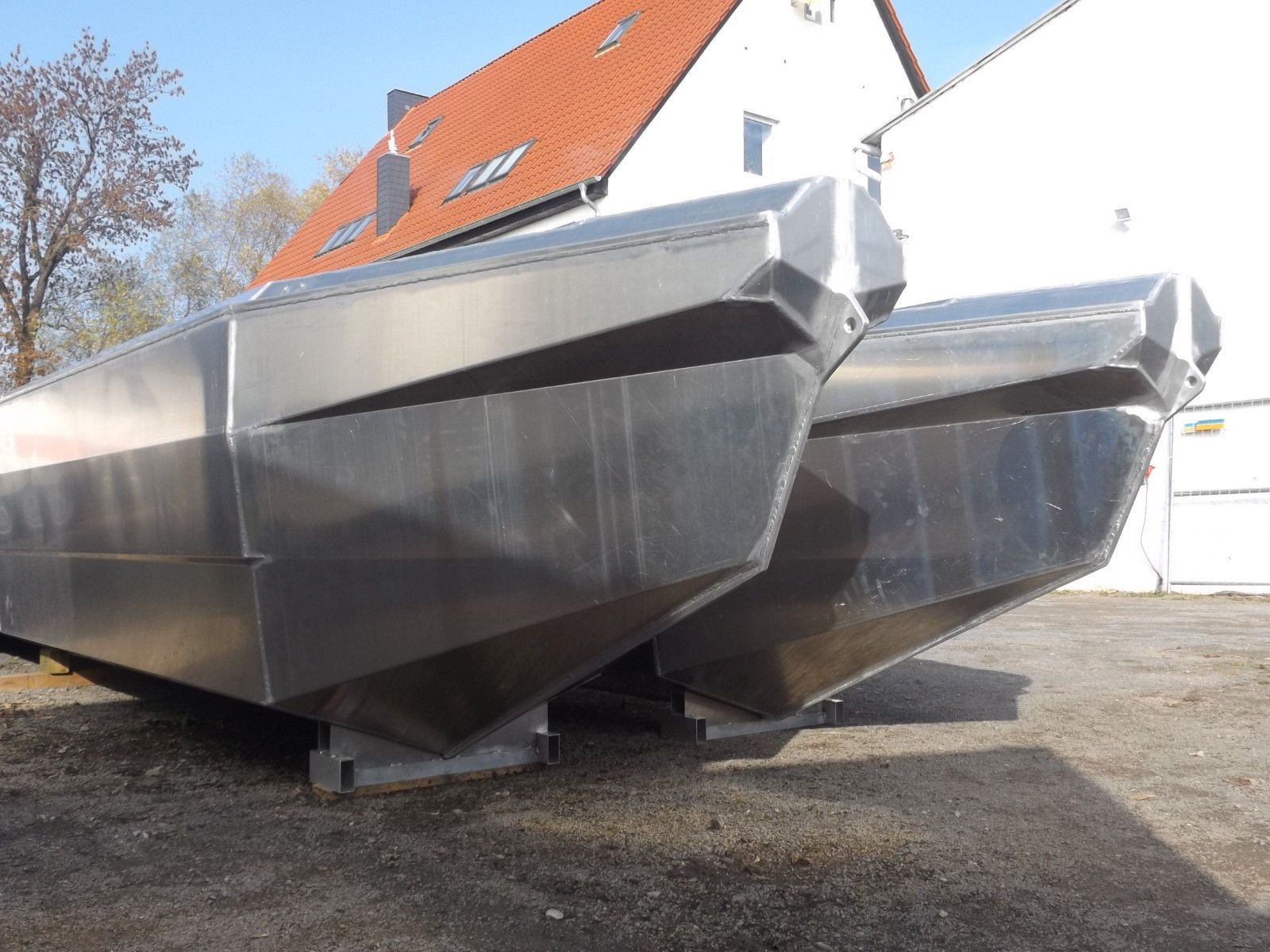 hausboot aluminium motorkatamaran pontonboot partyfloss. Black Bedroom Furniture Sets. Home Design Ideas