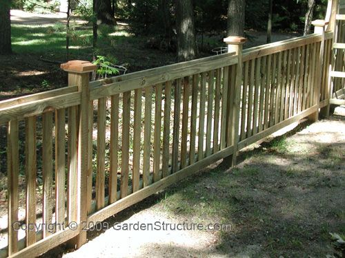 Simple Garden Fence Ideas garden design with simple garden fence ideas for front yard design center d with backyard fire Very Simple Picket Fence Designs