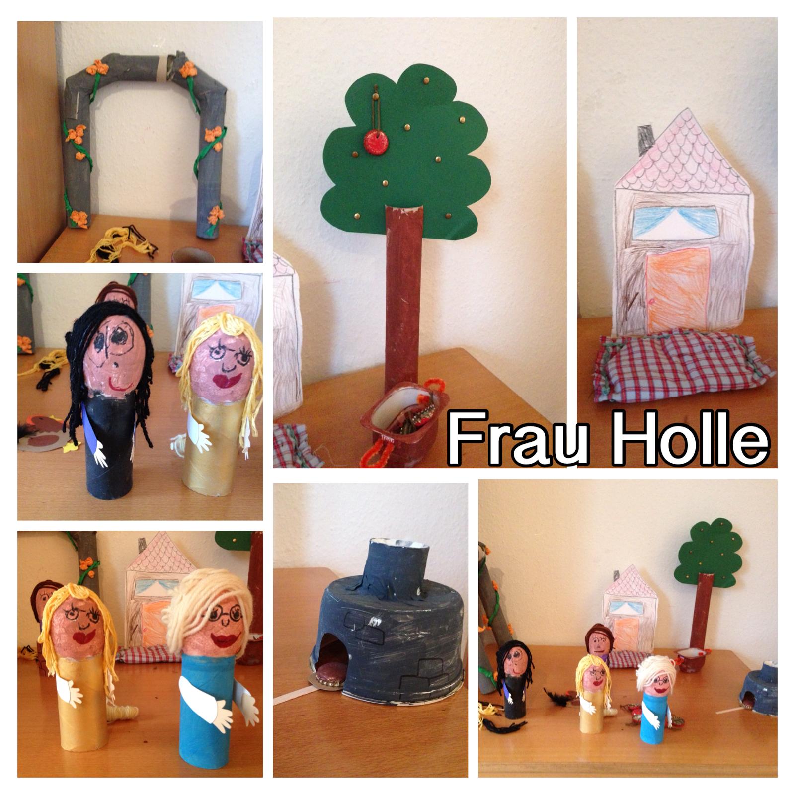 Erzähltische Im Kindergarten: Frau Holle