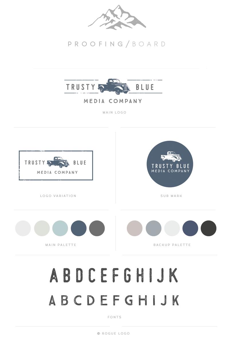 Custom Mini Brand Identity Brand Identities Brand Identity