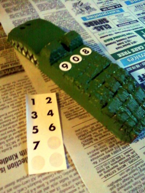 pinewood derby -- croc car -- links to picture only, no site | For ...