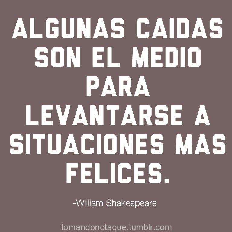 Citas Célebres Frases Motivación Shakespeare William