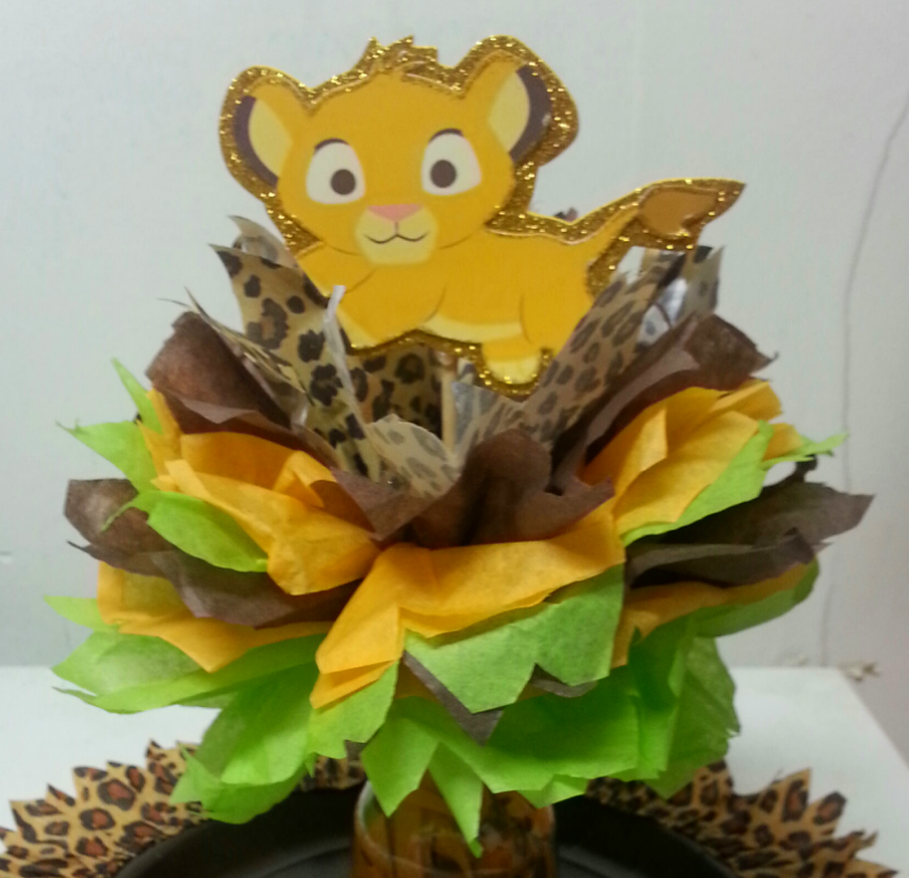 Lion King Centerpieces For Baby Shower Best Home Interior