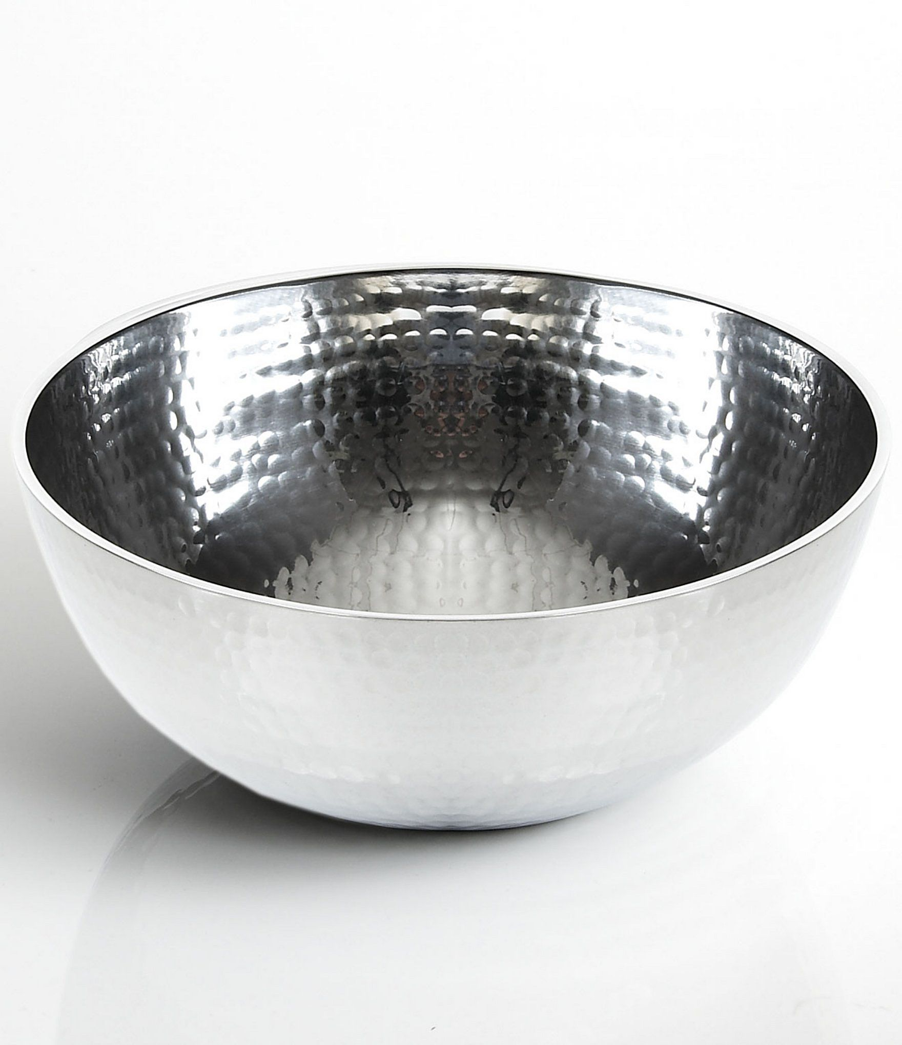 Towle Silversmiths Hammered Medium Serving Bowl Serving Bowls