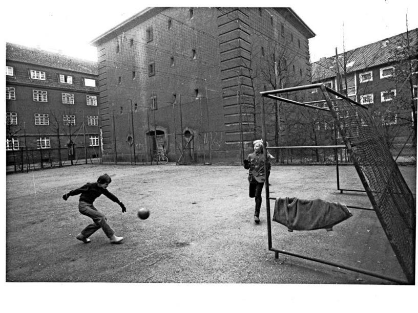 HANNOVER KLEEFELD * 1980 Nördlich der Bahnlinie wurden
