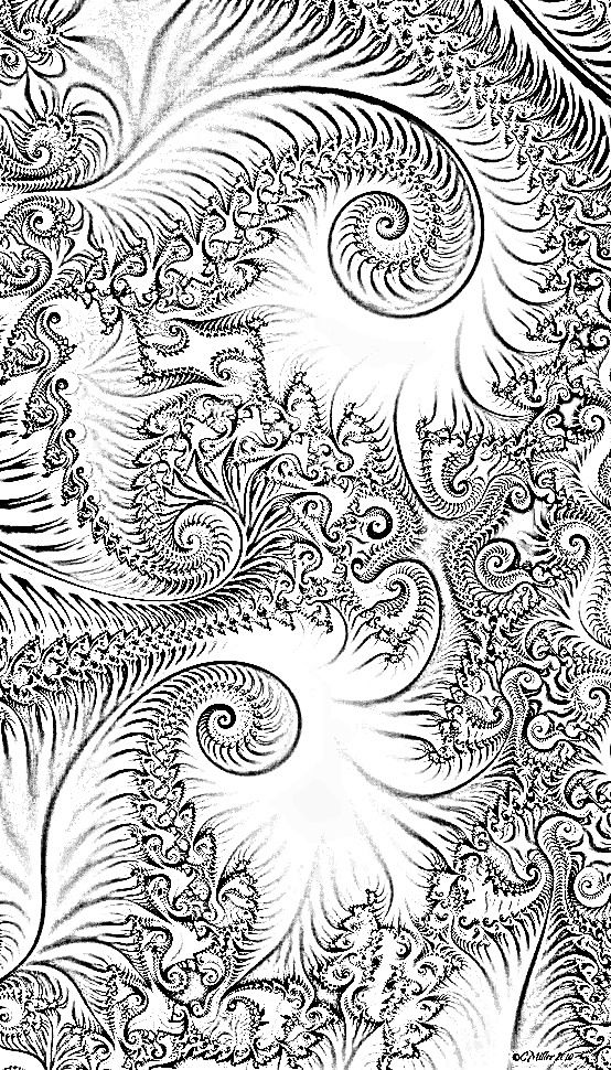 Fractals Coloring Pages Fractals Colouring Pages