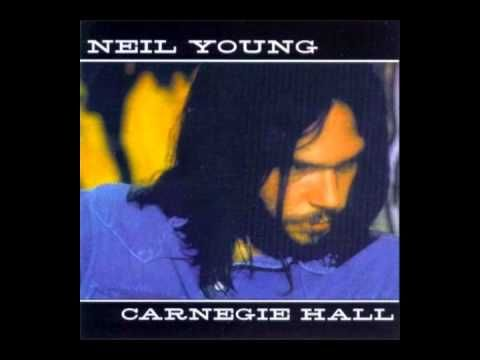 Neil Young Acoustic Live @ Carnegie Hall New York City 1970 Album - YouTube