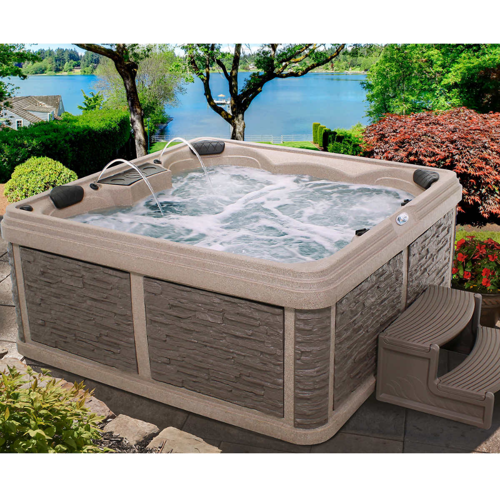 Cal Spas Patio Pacifica Plus Ppz 732l Spa At Calspas Com In 2020 Spa Water Spa Regular Cleaning