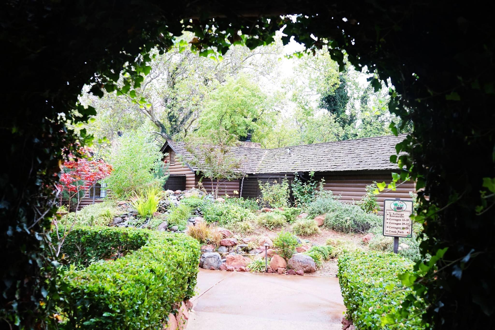 Cottage life. #lauberge #laubergedesedona #travel # ...