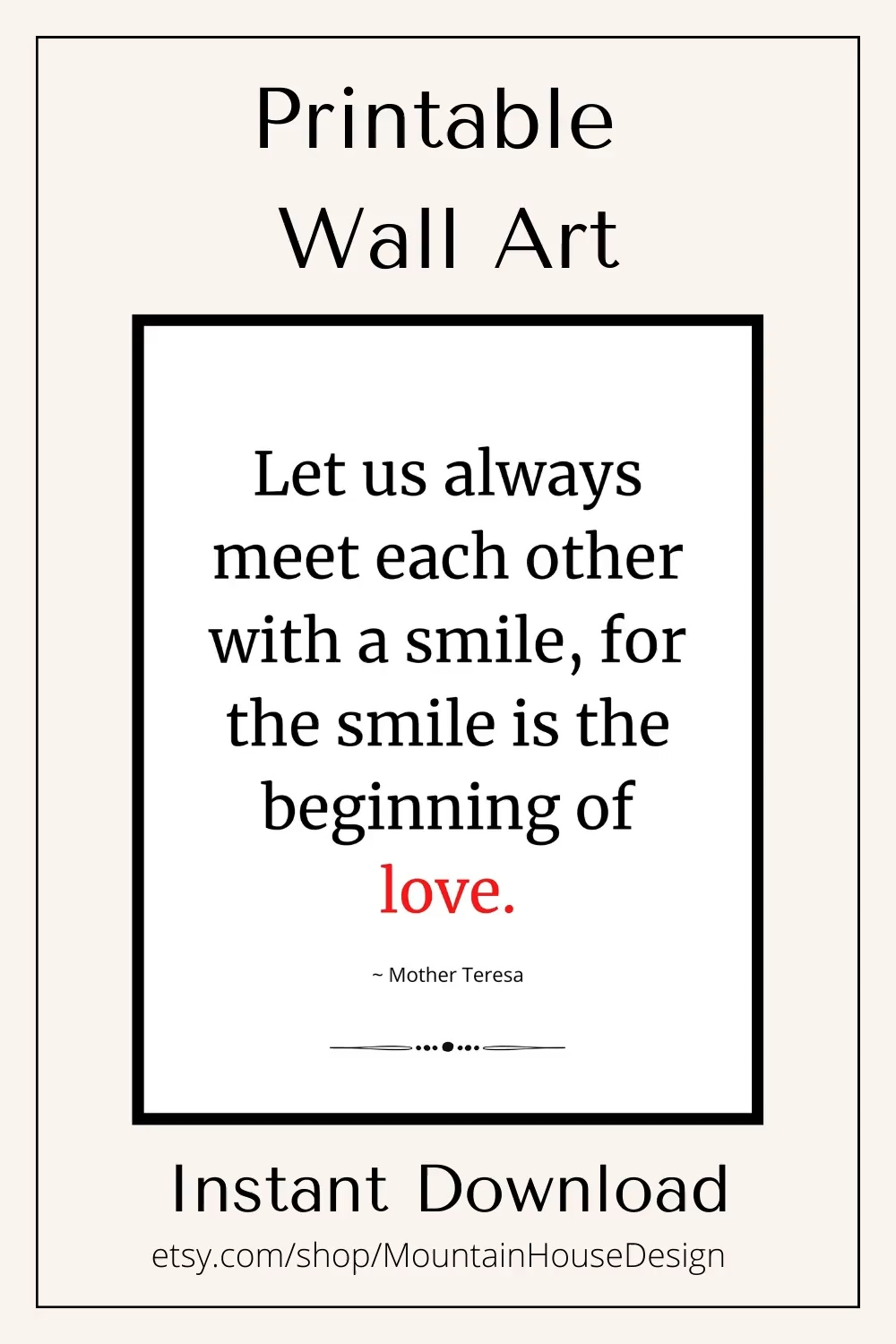 Let Us Always - Love Quote - Inspirational Quote - Printable Art - Cut File - Quote