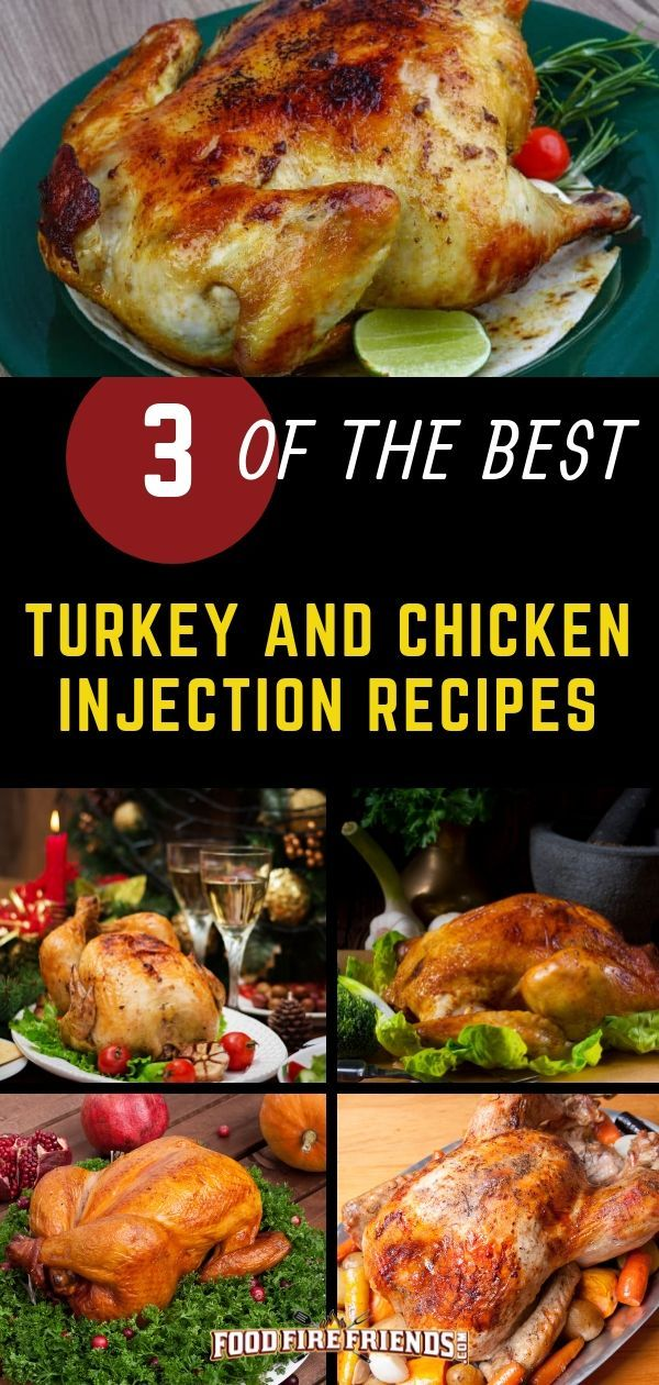 Photo of Best Turkey and Chicken Injection Recipes – 3 Most Popular and Flavorful