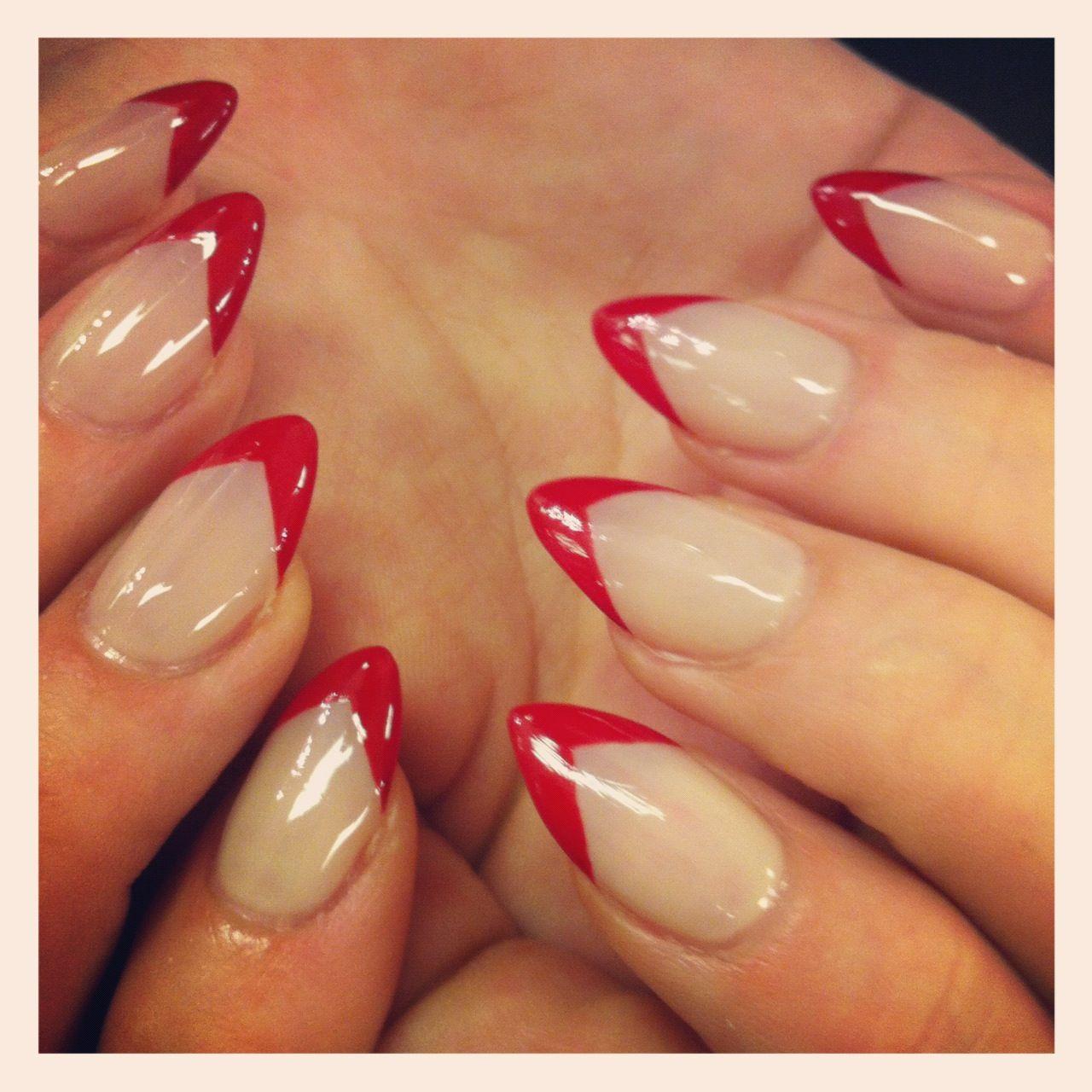Img 1037 Jpg 1280 1280 Red Tip Nails Stiletto Nails Short