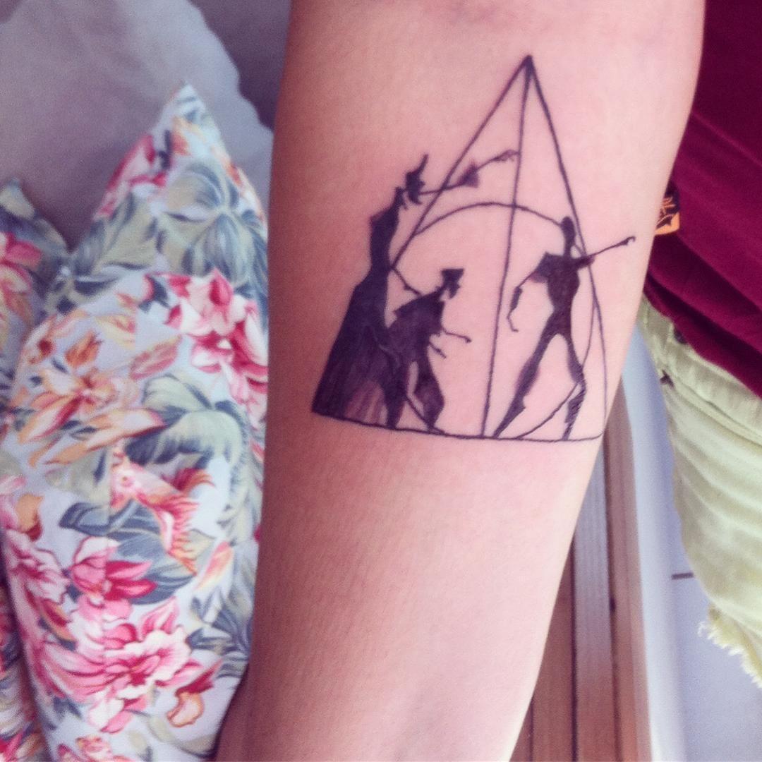 Las Reliquias De La Muerte Tatuaje Harry Potter If I Were To Ever