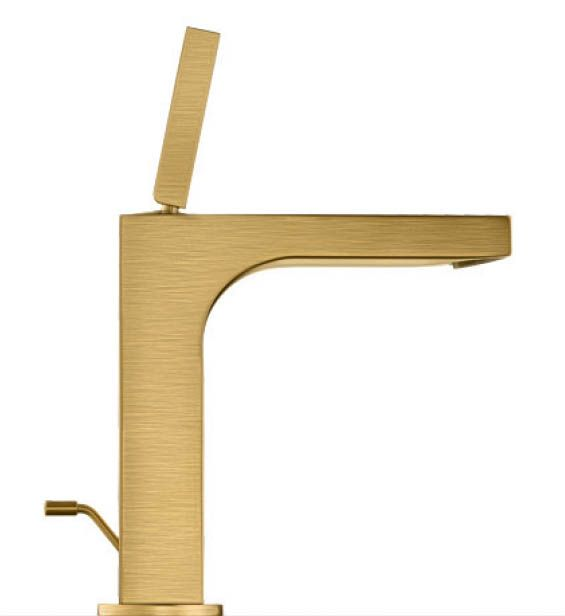 Axor Citterio Single Hole Faucet In The Brushed Gold-Optik Finish