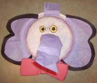 Make a paper plate elephant mask with a moveable elephants trunk as elephant art for your Halloween mask costume & Elephant mask anyone? | Macaroni Crafty Kids | Pinterest | Crafty ...