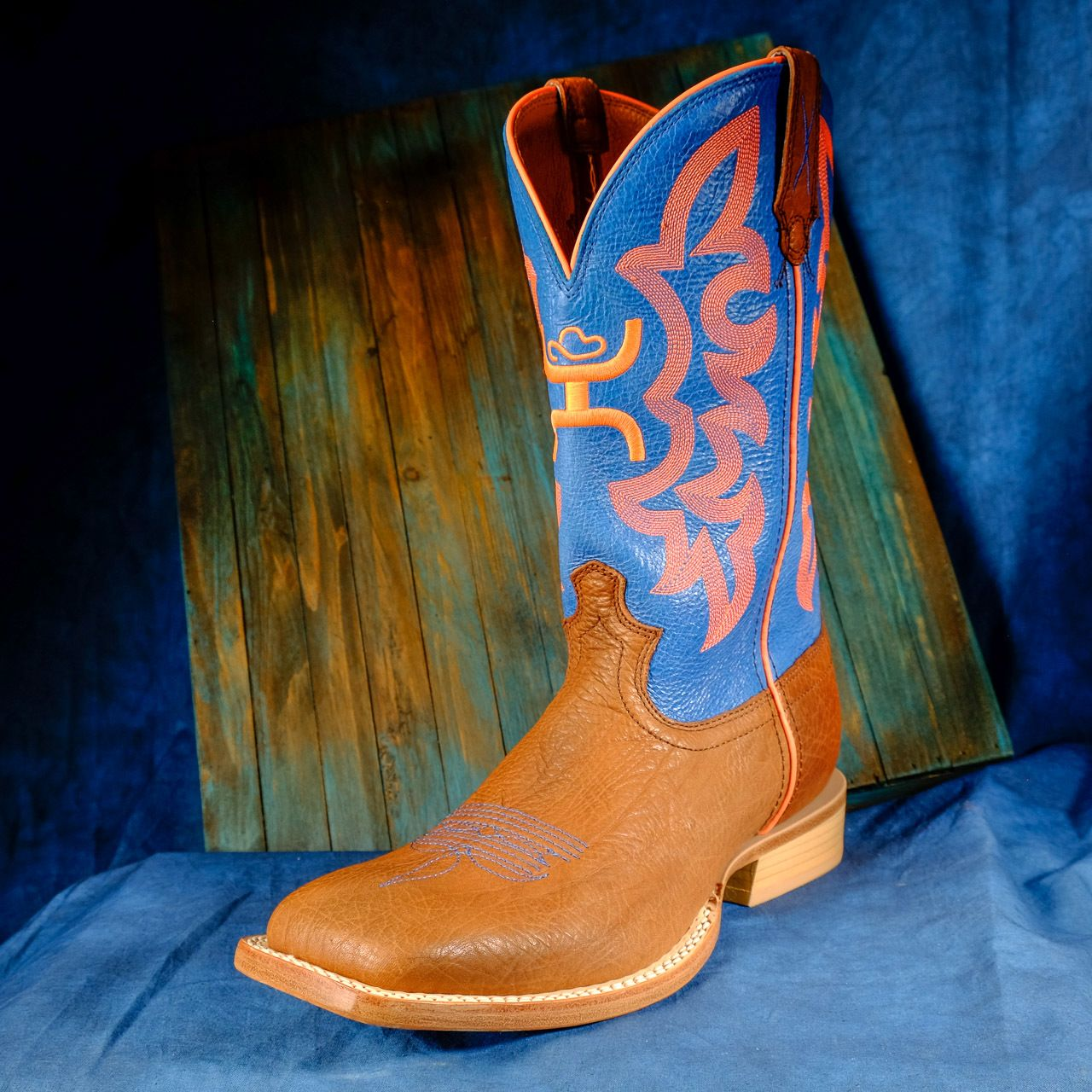 Twisted X Men's Hooey Boots Cognac Bull
