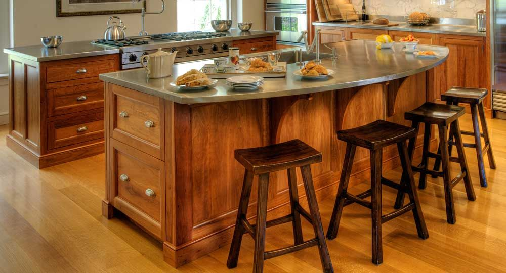 Lighting Astounding Kitchen Island With Breakfast Bar Designs