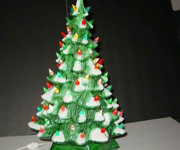 These Light-up Ceramic Trees Are Frequently Found At