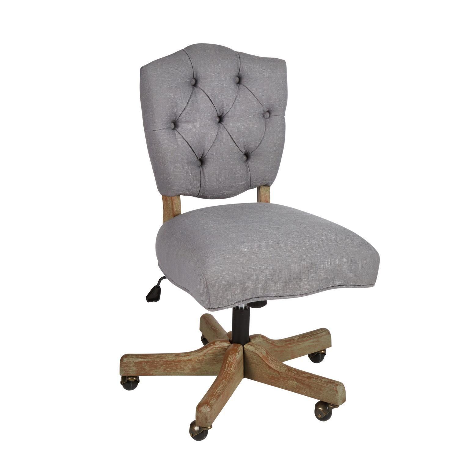 Kelsey Upholstered Rolling Office Chair Upholstered