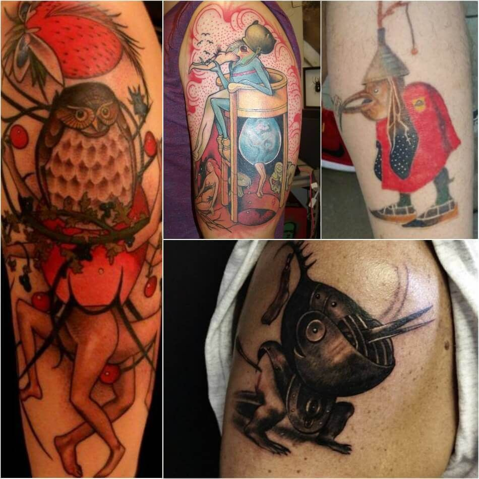 Painting Tattoo Ideas Tattoos For Art Lovers Inspired By Paintings