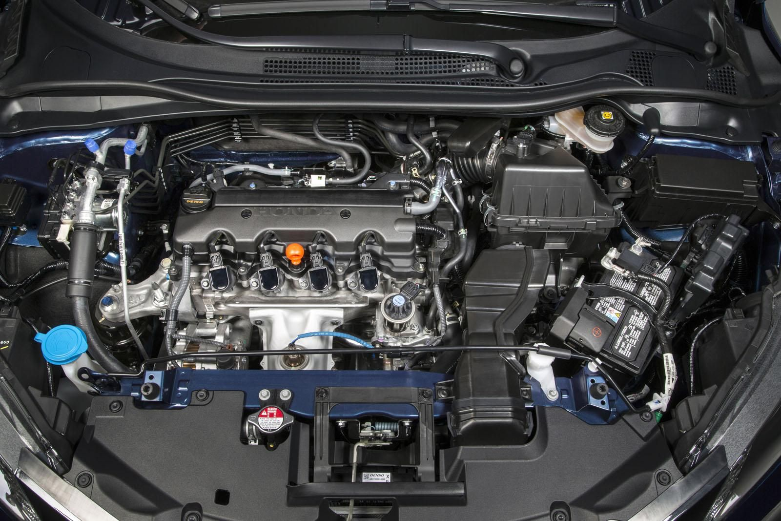 2016 Honda HRV under the hood Honda hrv, Honda crv