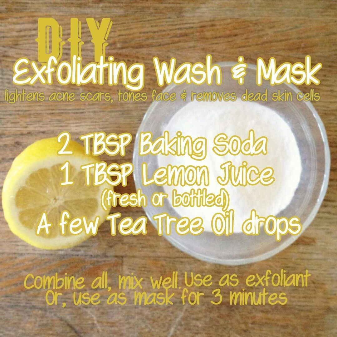 Baking soda and tea tree oil for acne
