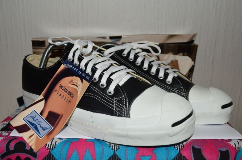8fc14308415c Converse Jack Purcell Vintage Leather Deadstock OG MADE IN USA 10 NWB