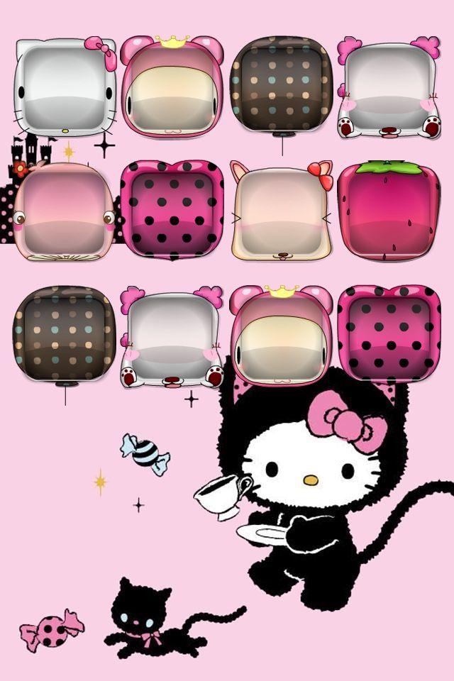 Cute Hello Kitty Background