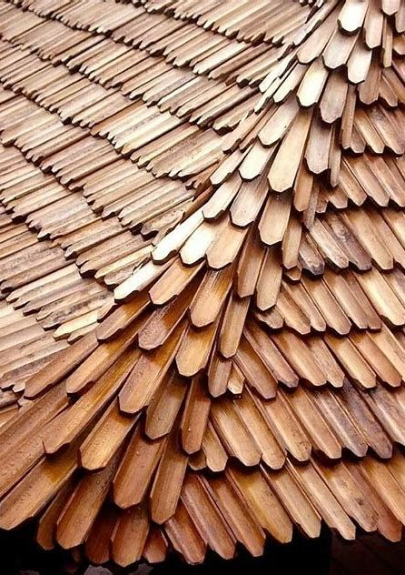 If You Re Thinking About Roof Covering A House Or Some Other Structure You Need To Understand A Little Regardi Bamboo Roof Bamboo Architecture Bamboo Building