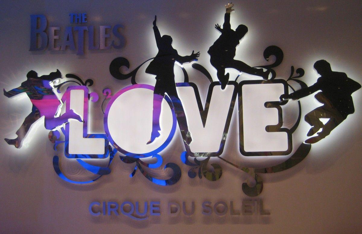 LOVE Cirque du Soleil at Mirage