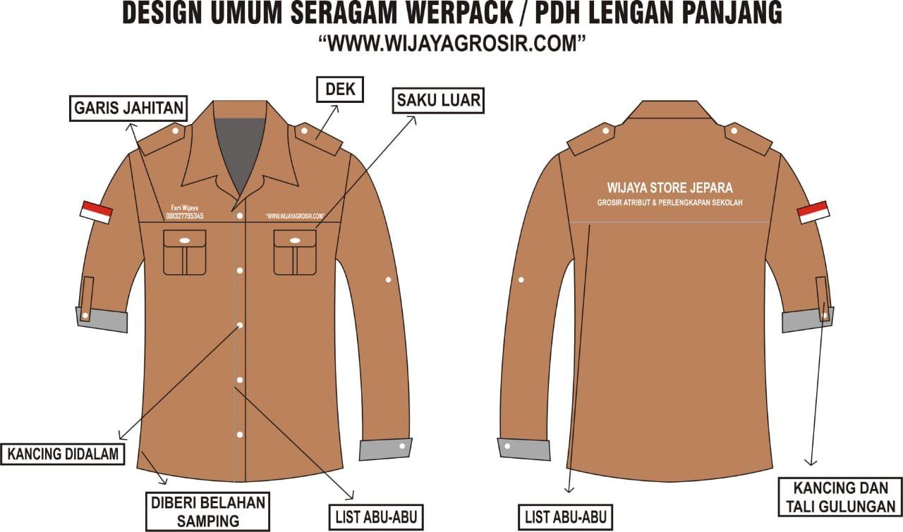 Baju Pramuka Lengkap