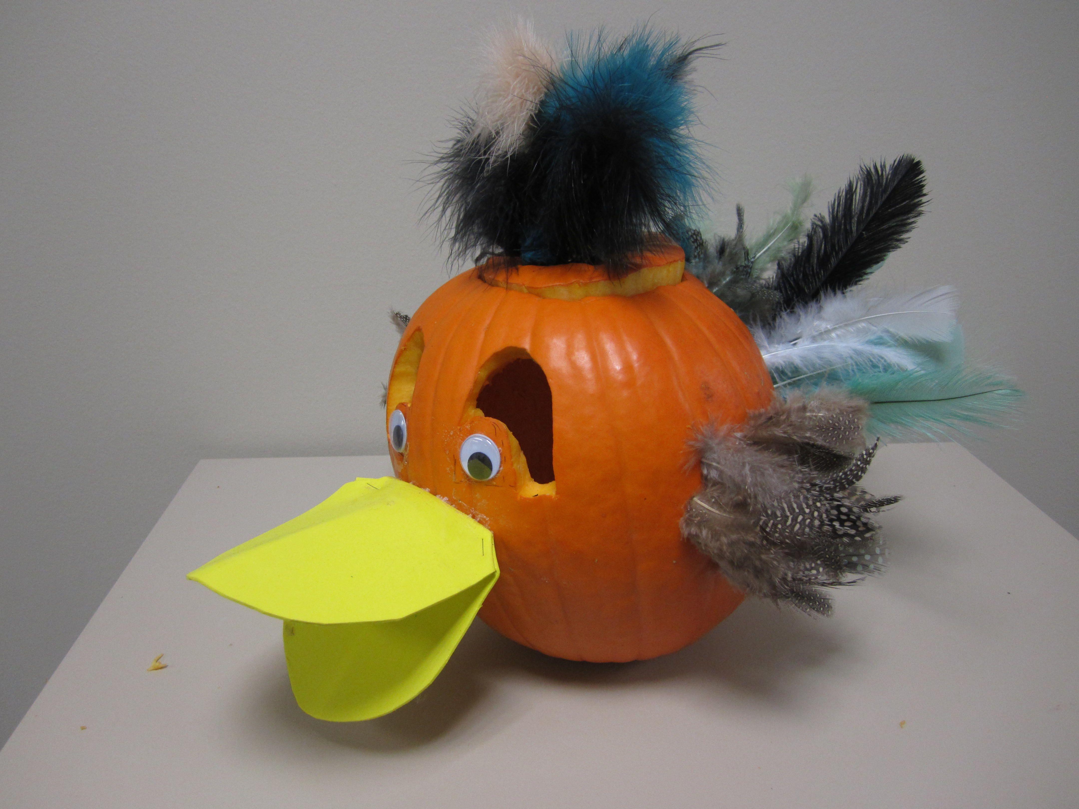 Duck Pumpkin | Pumpkin Decorating | Halloween