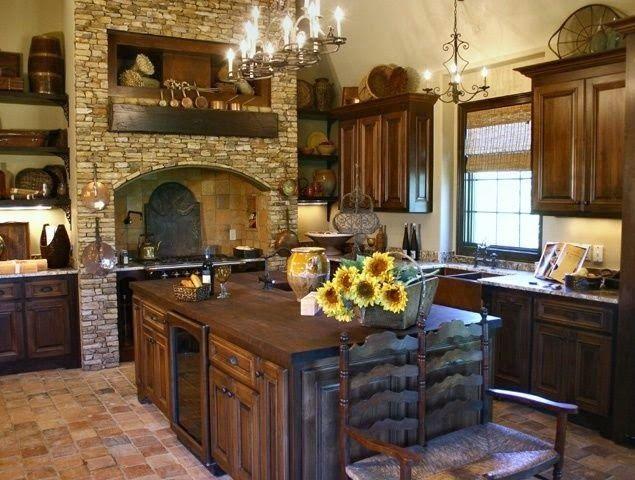 Rustic Kitchen Designs   More here: goo.gl/6cvVdZ