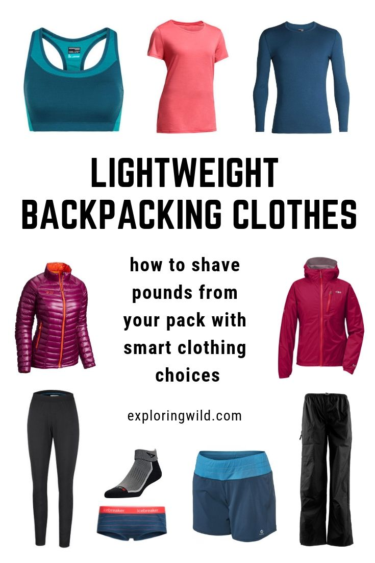 What To Wear Backpacking: A Comfortable, Versatile