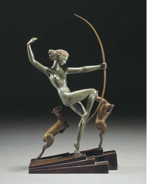 Cirque du Soleil Las Vegas Show Collectible Bronze Sculpture Statue Figurine Art
