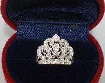 crown ring – Etsy FR