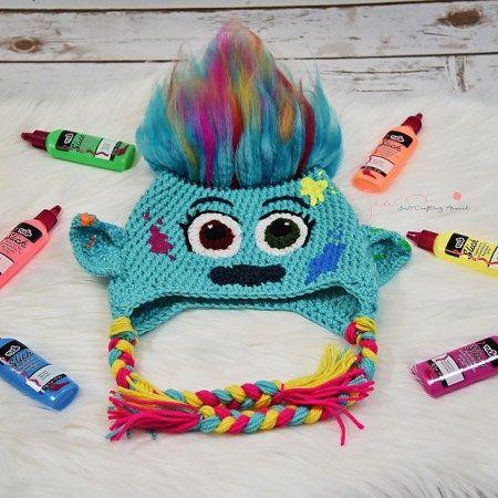 Harper Crochet troll hat pattern | Crochet | Pinterest