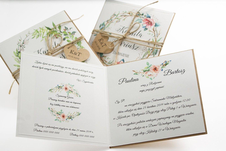 Zaproszenia Slubne Tanie Krosno Rzeszow 5014858563 Oficjalne Archiwum Allegro Tableware Napkins
