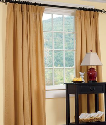 Insulated Weaver S Cloth Pinch Pleats Country Curtains Country Curtains Insulated Curtains Insulated Drapes