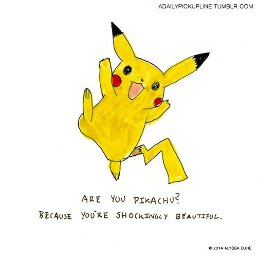 im gonna pikachu in the shower pick up lines pikachu pickup