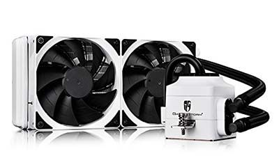 6 Deepcool Captain 240 Ex White Liquid Cooler Water Cooling