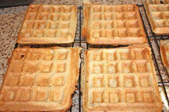 Whey Protein Waffles #wheyproteinrecipes
