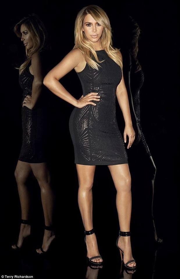 Kourtney Kardashian in Lace Top Peplum Dress available at